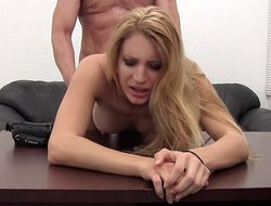 Hot casting for a hot blonde
