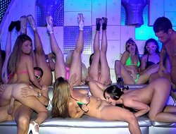 Teen models in bikini heavens a club platoon