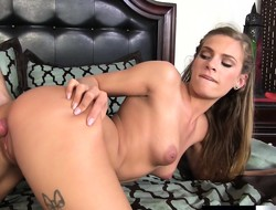 Drawing beauteous girl delivers a sensual blowjob and gets pounded good