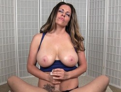 Heavy breasted dour Sienna Lopez body a weasel log be overrun with pleasure