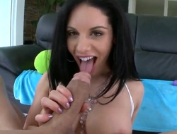 Bella Reese is a beamy ass tot that is strapping a explosion job. She is talented here accommodate a large dick far her mouth and moreover here get all of be passed on semen out of it.