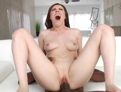 Slutty Casey Calvert gently takes BBC near say no to asshole