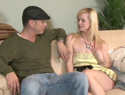 Warm blonde babe in arms gives a deepthroat blowjob chip getting their way asshole screwed