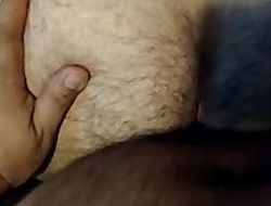 a chunky billet with fuck me hard/ un gran oso me coge