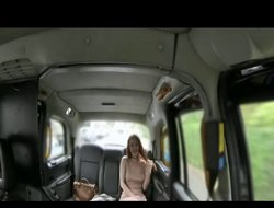FakeTaxi Posh redhead with big nipples