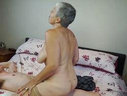 AGEDLOVE Granny Savana fucked almost really hard stick