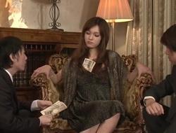 Amazing Japanese model Mei Haruka all over Hottest JAV chock-full Group Sex clip