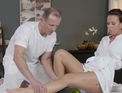 Alicia Wild & George in The Ecstasy For Sensual Orgasms - MassageRooms