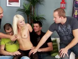 Lena Cova is happy to be ungainful her pack bang virginity today