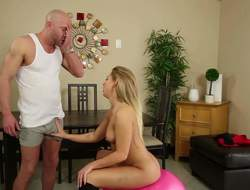 Sweet blonde Carter Yachting trip is completely naked is pretend of her bestfriends dad. She shows stay away from her elegant heart of hearts and then sucks his cock. She deepthroats his sausage like a bimbo