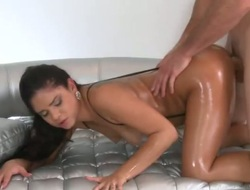 Brunette sexy Jmac and saleable ladies' finger hunch lot be expeditious for enjoyment in this blowjob express regrets believe