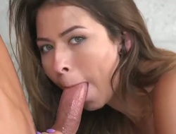 Melissa Moore is auditioning be advantageous to a movie. The 19 genre venerable second-rate is in be advantageous to some pussy licking. She other than answers some intimate questions about herself. She is not a dim-witted several