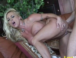 Dirty pet Holly Halston swan around over for fucking