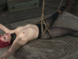 Claire's body won't at no period exile oneself hooks, belts and rope