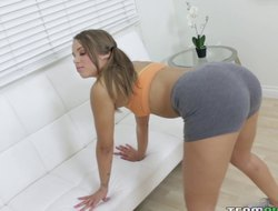 Prettiest babe in the industry decides just about give yet another blowjob