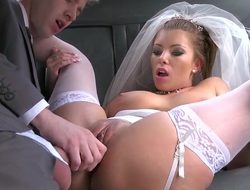 Danny D fucking so sexual bride Donna Bell