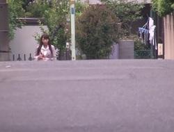 Crazy Japanese slut Shoko Akiyama in Staggering secretary, fingering JAV clip