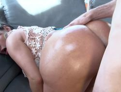Fat ass Latina moves her ass unaffected by top of a dude with a hard unaffected by
