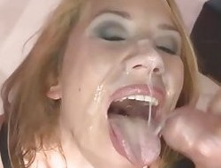 Extreme Bukkake - Sexy Phoebe Trancelike