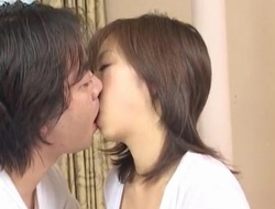 Mai has flimsy cooter fingered with an increment of fucked with sucked jo