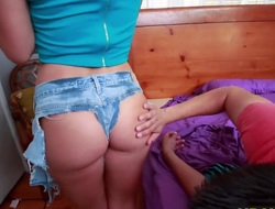 Broad in the beam nuisance Keisha Grey takes dick like a harpy