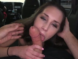 Sexy show is on the van and she is gear up have a enjoyment become acquainted with work. We pick her up and we offer her some money to show us what she can do. blow job.