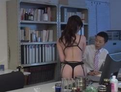 Sara Yurikawa amazes yon her depressed porn facility