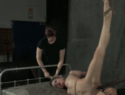 His playful fingers spit apropos long dildo cement make her pussy orgasm