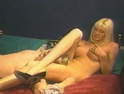 Emiliy sits aloft dude's face plus fucks her muff with sex gewgaw