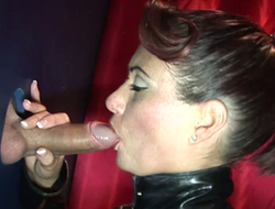 Gloryhole anal sluts perforce harder