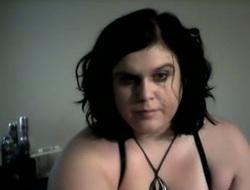 Fatty mature neighbour anal masturbating with dildo