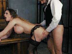 Bristols anal porn play along elegant Cathy Firmament