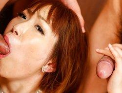 Crazy Japanese chick Nonoka Kaede in Remarkable JAV gorged Blowjob movie