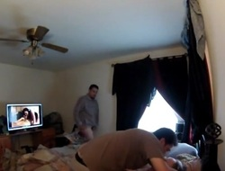 Husband Letting Dudes Creampie his Wife for her Birthday
