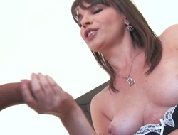 Dana DeArmond & Spinal column Powers in the air Busting More Than A Move - Brazzers