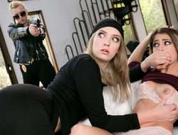 Lexi Belle  Kristen Scott  Giselle Palmer in The Busted Robber - GirlsWay