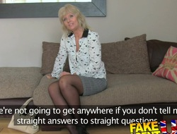 FakeAgentUK: Mature MILF wants stripling brace cock on demand
