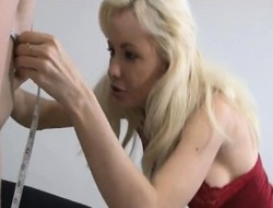 Hot blondes Margo increased unconnected with Kaylee worship a big pole increased unconnected with share its juices