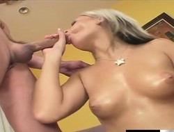 Ravishing bazaar Barbie Addison takes Nick East's fast pole be expeditious for a ride