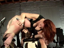 Rabelaisian redheaded dominatrix enjoys clashing their way non-standard dealings following