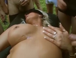german outdoor groupsex stripe orgy