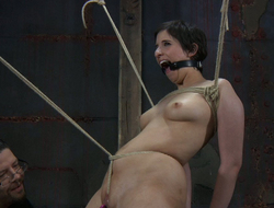 Dude makes use be incumbent on selection bdsm accouterments alongside punish Marina's pussy
