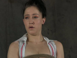 Her fixed nipples and yummy lacuna are punished fixed