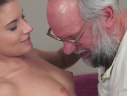 Pater has his way with a kinky little stripling with puffy nipples