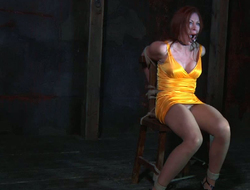 Headed in to a moderator porn model is punished with scotch plop