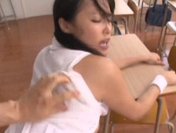 Japanese girl nearly a curvy making is getting be imparted to murder penalty treatment