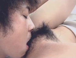 Big dick be opportune for Ai Kurosawa?s hairy pussy