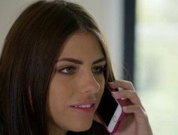 Adriana Chechik is totally specified close to a big frowning bushwa