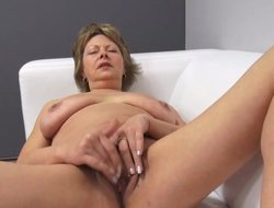 Czech mature POV 53yo blowjob fuck and cumming primarily big boobs