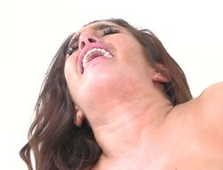 Mila Marx anally drilled hard by his extra thick cock